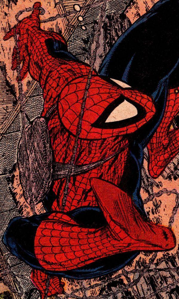 Comic Book Close - Amazing Spider-man #316 Todd Mcfarlane Pencils