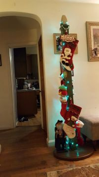 free standing Christmas Stocking holder | holiday fun ...