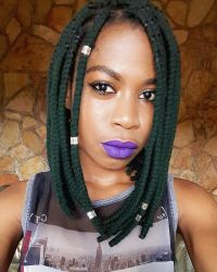 Yarn braids Yarn Bob Braids Short Box Braids #Bob Braids # ...