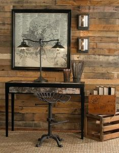 Interior design rustic interiors furniture wooden table wall lamp mural chair furnishing bookcase room decorating ideas house home designs also modern decor dekorasyon pinterest apartment walls rh
