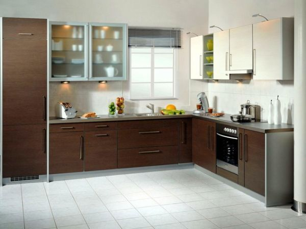 Small L Shaped Kitchen Design India