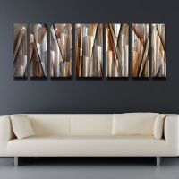 Modern Contemporary Abstract Metal Wall Art Sculpture ...