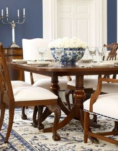 Blue and white archives panda   house interior decorating ideas also idea color scheme for dining room my home pinterest rh