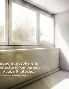 Creating atmosphere in architectural renderings with adobe photoshop tutorial on vimeo also rh za pinterest