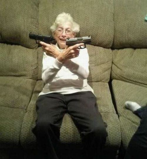 Stupid People Guns