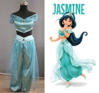 Lamp of Aladdin Princess Jasmine Cosplay Costume Carnaval ...