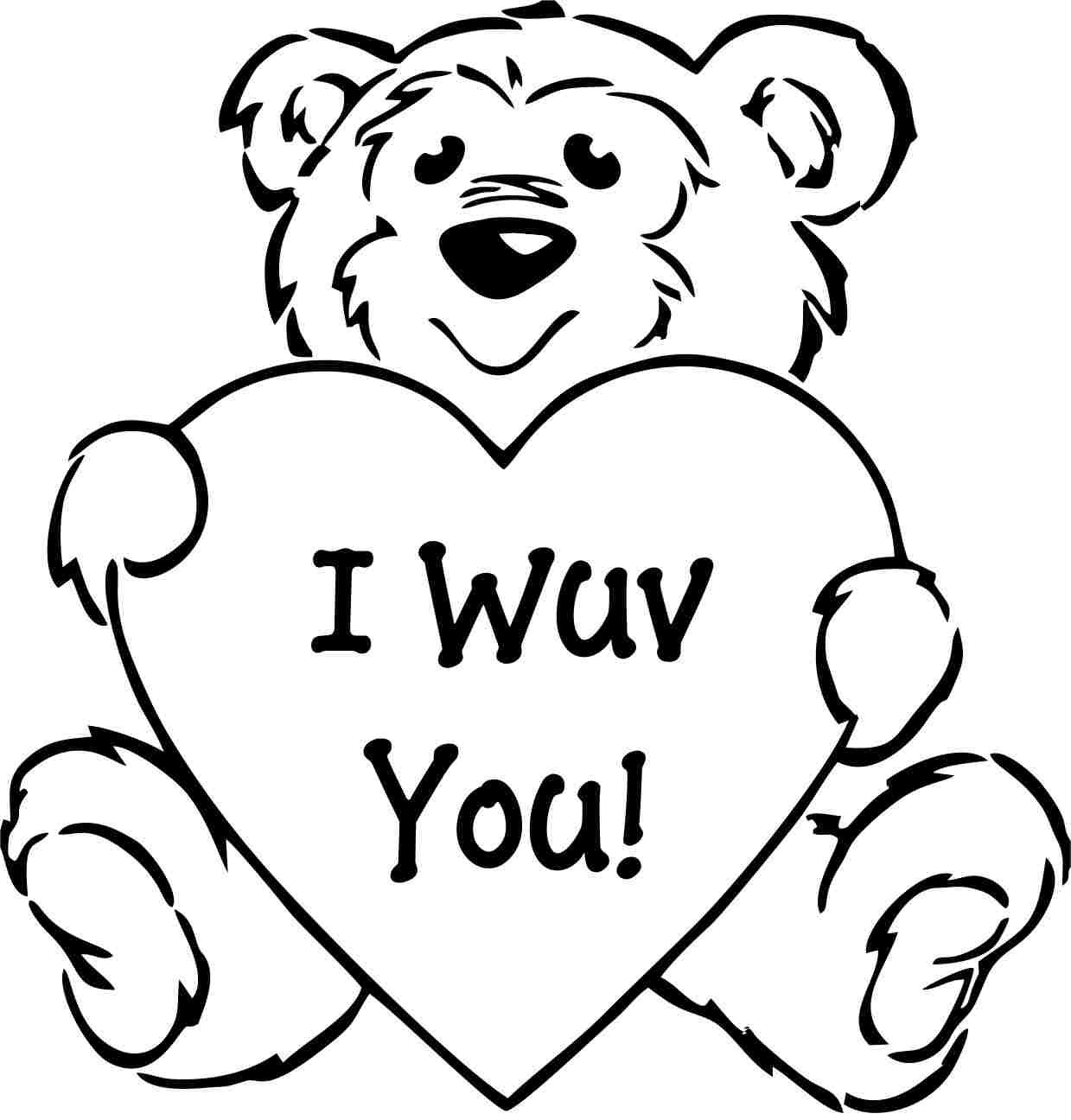 Valentines Printable Coloring Pages Valentines Day