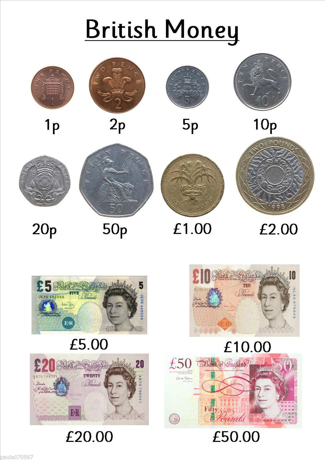 I Will Be Designing More So Call Back All Colour Counting With British Money Ideal Learning
