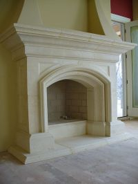cast stone fireplace - Google Search | Interiors ...