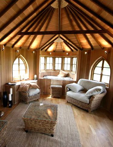 Tree House Interior Whimsical Interiors Pinterest In The