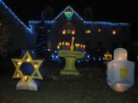 Holiday Decor -- Outdoor Hanukkah Decorations | The STAR ...