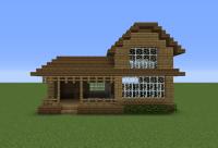 Minecraft Wood House | www.pixshark.com - Images Galleries ...