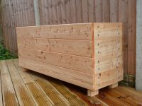 Wooden troughs, Garden trough, garden planter, extra large