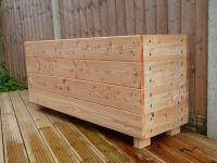 Wooden troughs, Garden trough, garden planter, extra large ...