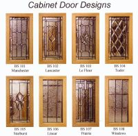 Leaded Glass Cabinets on Pinterest