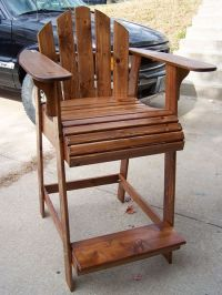 Tall Adirondack Chair | Projects I might try | Pinterest ...