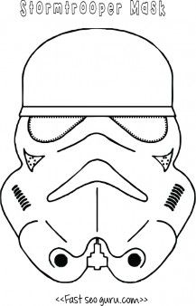 free star wars #stormtrooper mask printable for kids