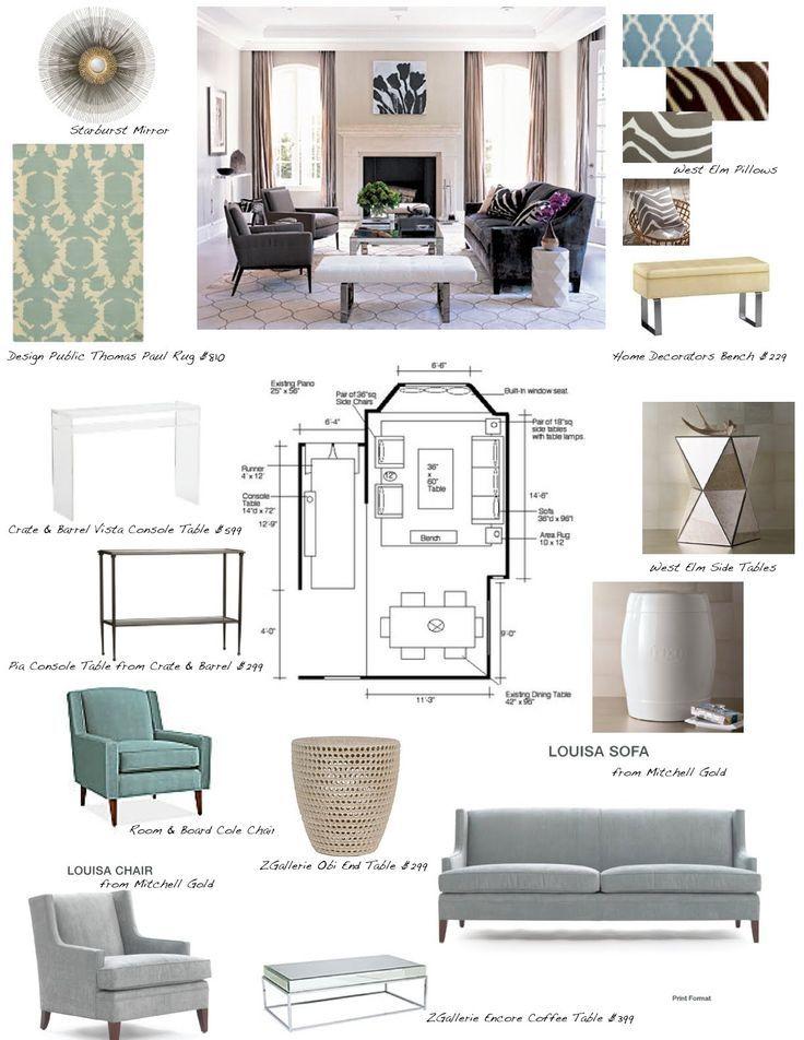 Interior Design Concept Development Boards Room Design? On A