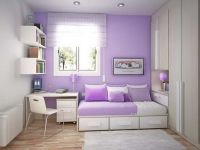light purple room