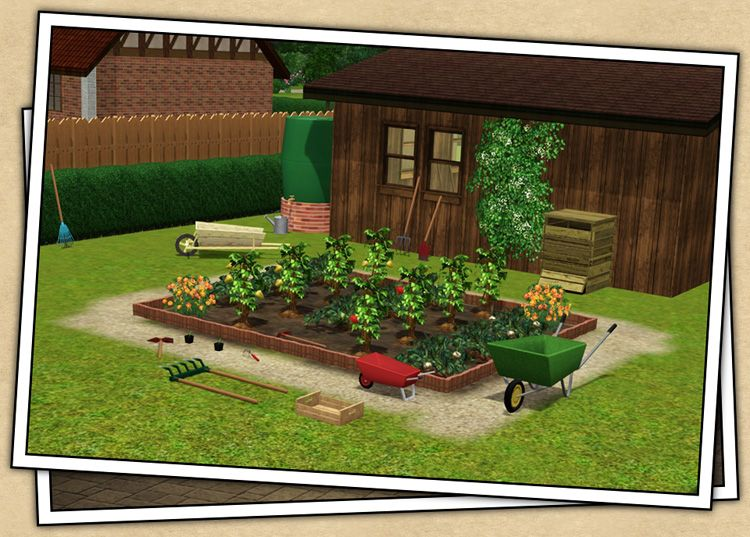 Around The Sims 3 Downloads Objects Outdoor Gardening