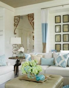 Elegant home that abounds with beach house decor ideas also white rh pinterest
