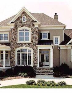 Beautiful home wrap around porch balcony stone everything  want on the exterior of my house also pin by viki dragaleva houses pinterest rh