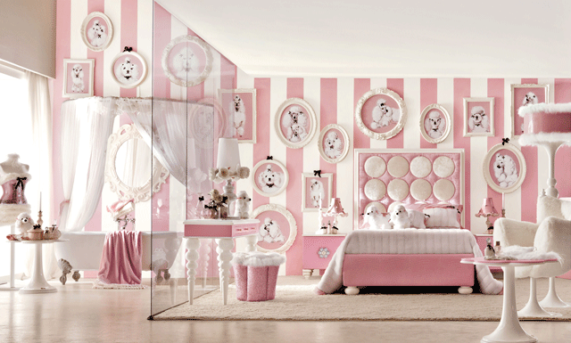 trends girls bedroom furniture. little small spaces childrens