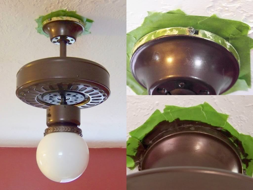 Wiring A Kitchen Light Fixture Best 25 Painting Ceiling Fans Ideas On Pinterest