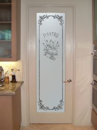 White Frosted Glass Interior Doors | kitchen | Pinterest ...