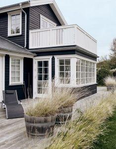 Las cositas de beach  eau encima la playa dark siding housesiding also una casa danesa rh pinterest