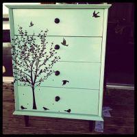 Refurbish old furniture @ DIY Home Cuteness?...I love the ...
