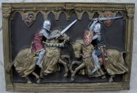 Marcus Replica Hanging Medieval Knights Horse Jousting ...