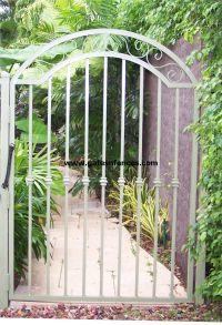 Garden Gates Decorative Gates Wrought Iron Aluminum Garden ...