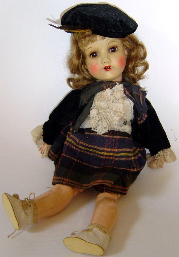 Armand Marseille Scottish Doll Mom'
