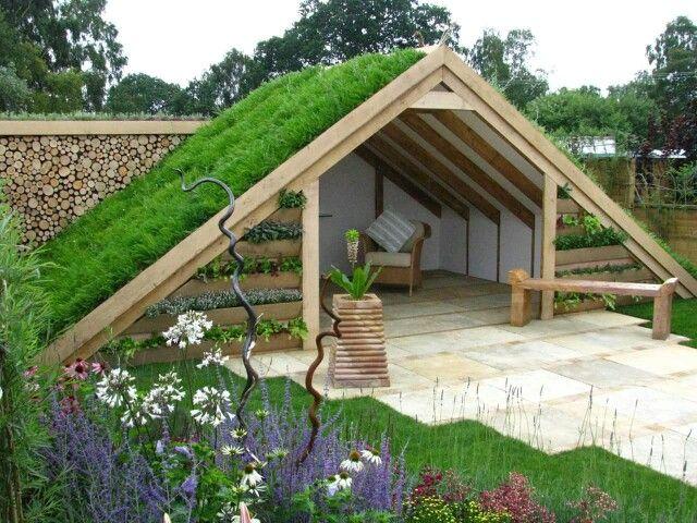 Unique Garden Structure DIY Garden Ideas Pinterest Gardens
