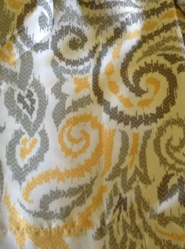 Details About Threshold Yellow & Gray Paisley Shower Curtain Grey