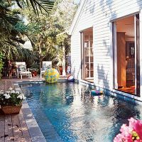 27 Jaw-Dropping Beach House Pools | Lap pools, Small ...