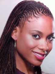 cornrow front box braids