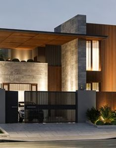 Gallery of house om ae arquitectos architecture and facades also rh pinterest