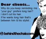 """hair humor """" ' guy' prefers"""