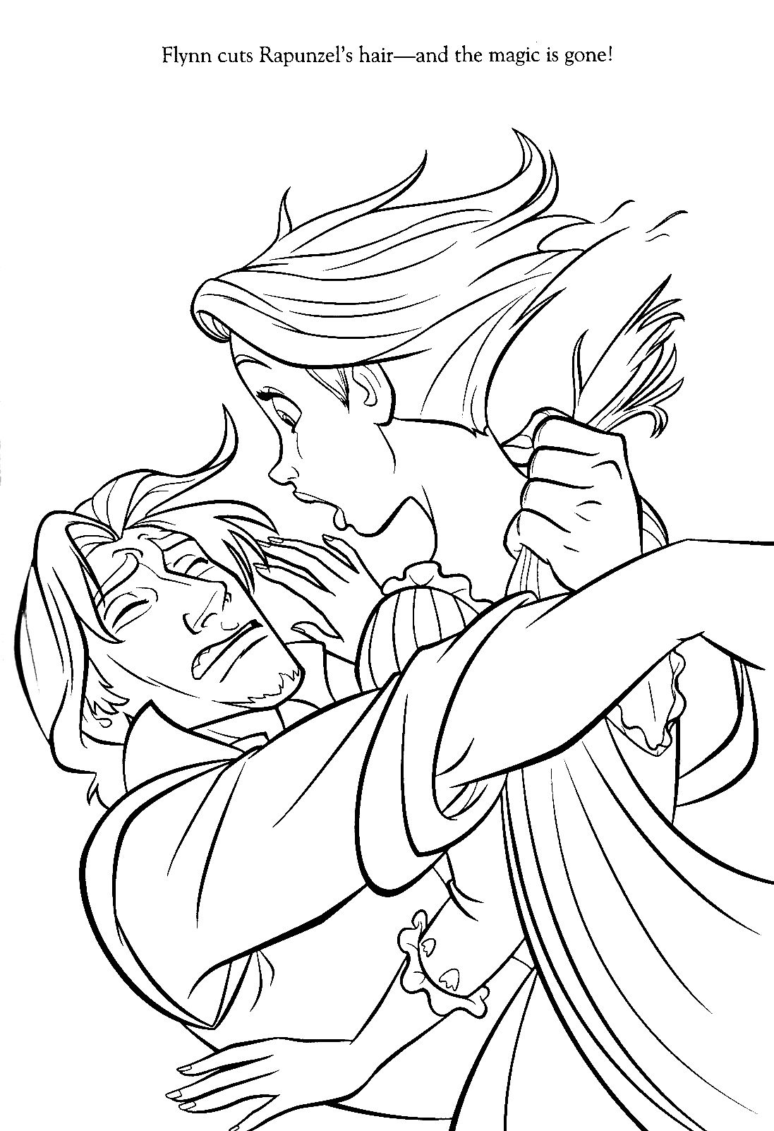 Tangled Coloring Pages Google Søgning Tangled Colouring Pages
