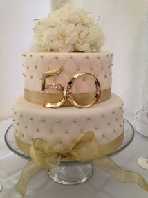 Simple 50th Anniversary Cakes Imgurl