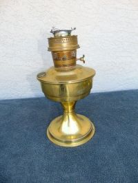 Antique vintage brass aladdin kerosene oil lamp model 23 ...
