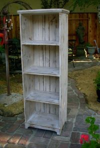 Wooden Shelf - Rustic - Shabby Furniture - Storage Shelves ...