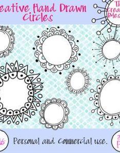 hand drawn circle frames also teacher pay teachers notebook rh za pinterest