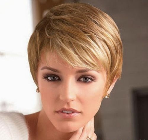 2014 Short Hairstyles Thin Hair Oval Face Short Hairstyles For