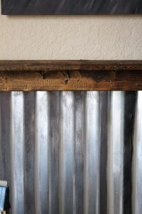 Corrugated Metal Walls on Pinterest   Corrugated Metal ...