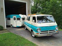 Vintage Dodge Camper Van