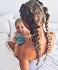 Hairstyles - 10 Quick Hairstyle Ideas for Moms | Braided ...