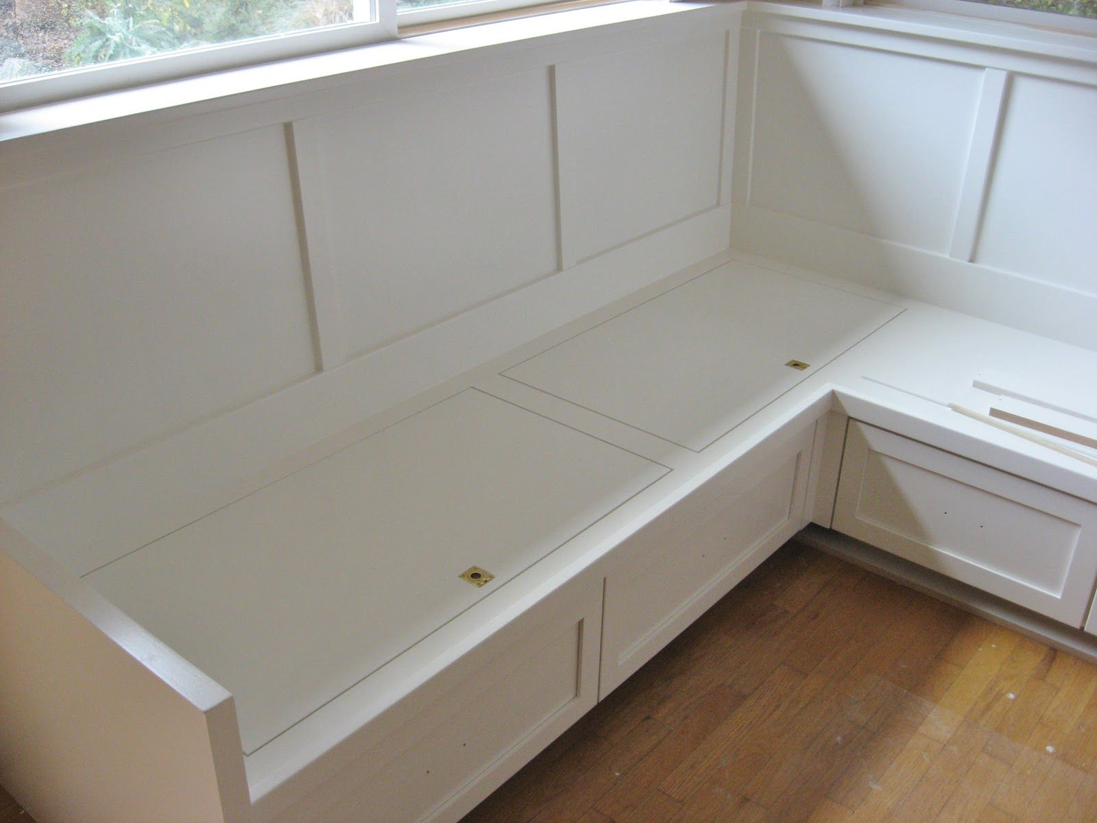Image of Kitchen Bench Seating With Storage Plans